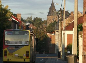 Бельгийский автобус