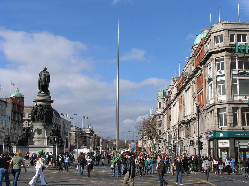 О'Коннелл-стрит - главная улица Дублина