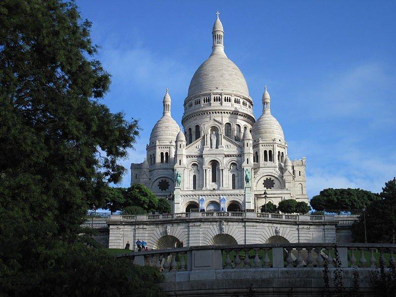 Базилика Сарке-Кёр, Монмартр, Франция
