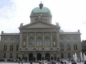Здание правительства и парламента, Берн, Швейцария