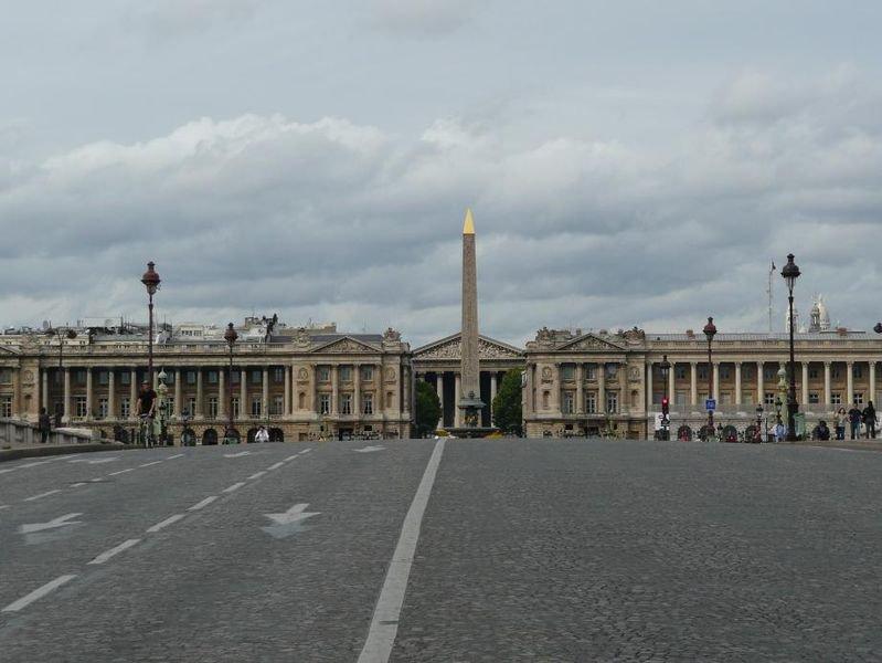 Вид на площадь с моста Согласия, фото Simdaperce / Wikimedia Commons