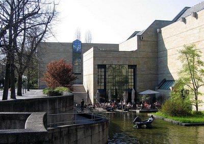 Новая Пинакотека в Мюнхене, фото Rufus46
