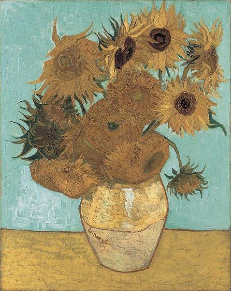 """Подсолнухи"", Ван Гог"