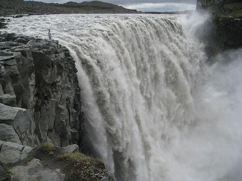 Водопад Деттифосс, фото Tim Bekaert