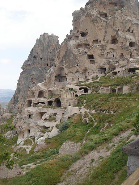 Пещерные города Каппадокии, фото Luciana Caran