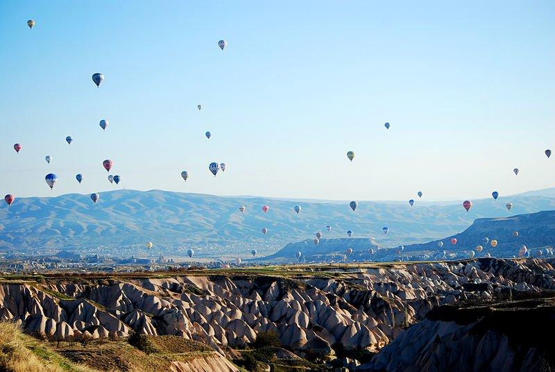 Воздушные шары над Каппадокией, фото 304;lkerkatik