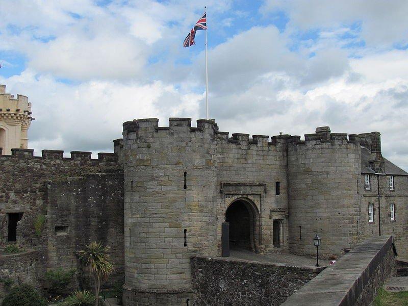 Замок Стерлинг, вход