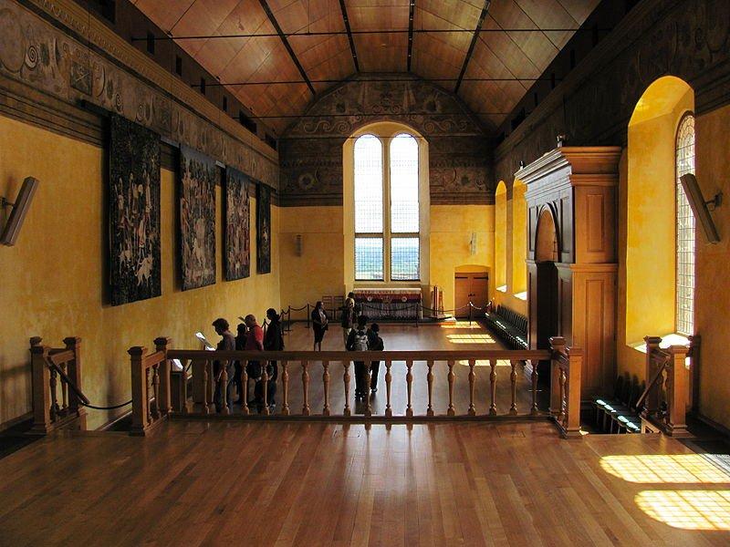 Замок Стерлинг, интерьер
