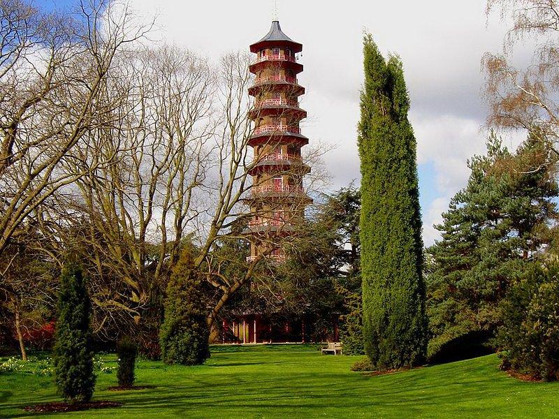 Сады Кью, пагода