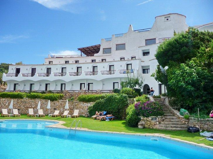 отель на Сардинии, в Порто-Черво