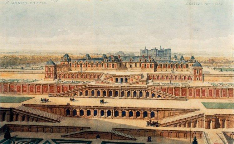 Новый дворец в Сен-Жермене