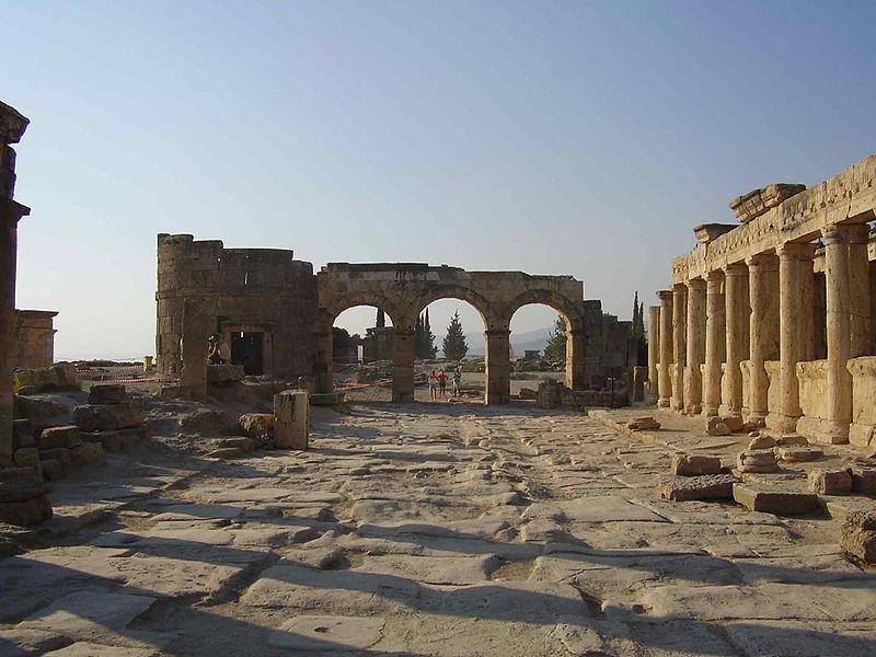 Руины Иераполя