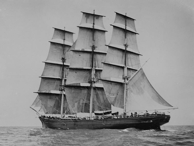Катти Сарк в море