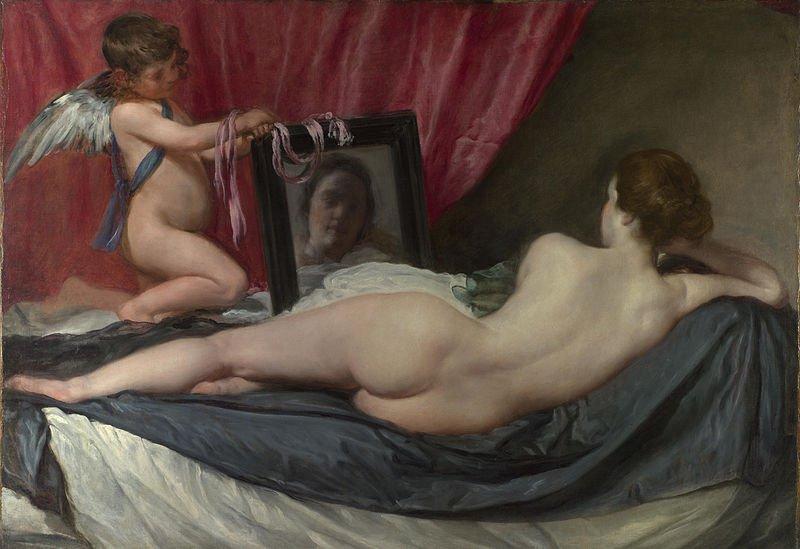 """""""Венера перед зеркалом"""", Диего Веласкес, Национальная галерея"""