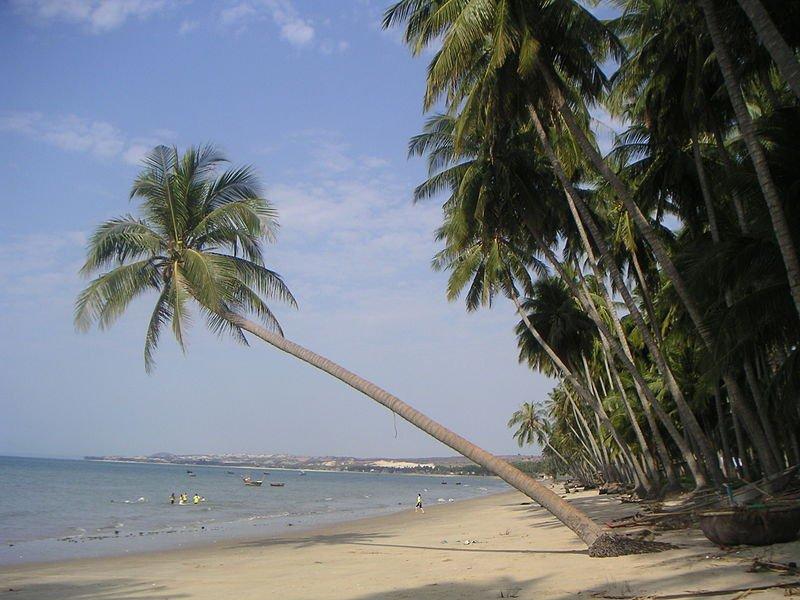 Пляж в Муйне, Вьетнам