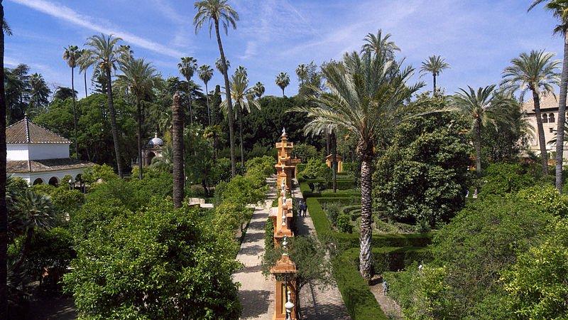 Сады Алькасара в Севилье, фото José Luis Filpo Cabana