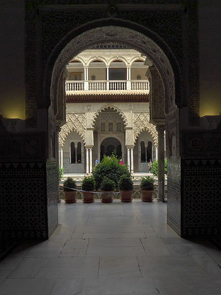 дворец Педро Жестокого, Алькасар Севильи, фото José Luis Filpo Cabana