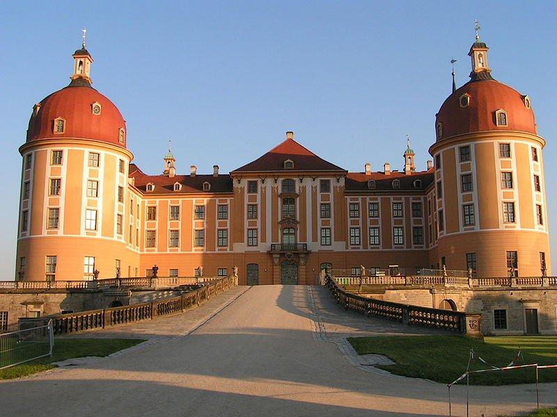 Замок Морицбург, фото Maxi Modes