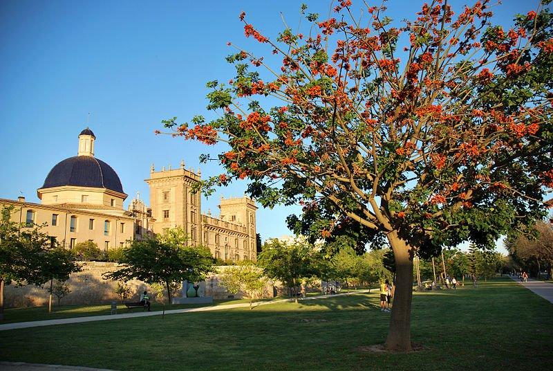 Сады Турии, фото Toutaitanous