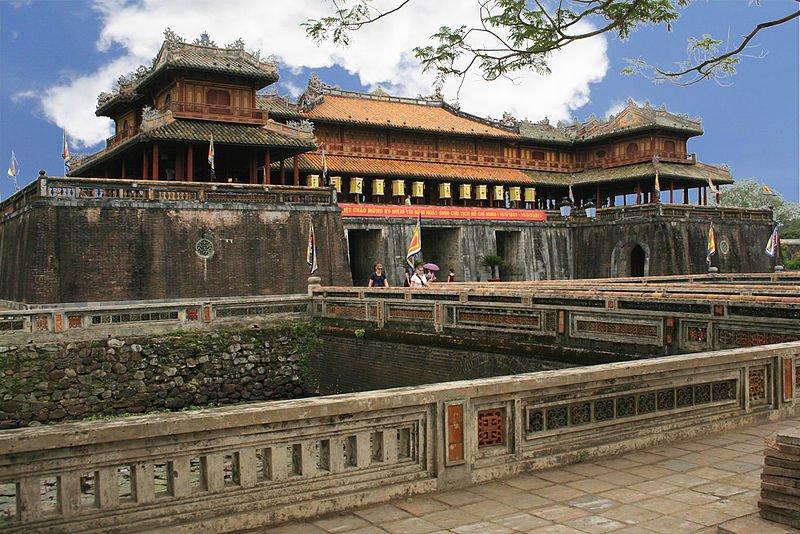 Вход в Цитадель Хью - ворота Нгомон