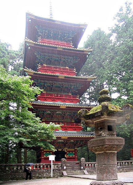 Пагода, Никко