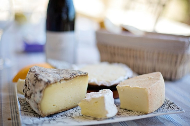 Сыр, Франция