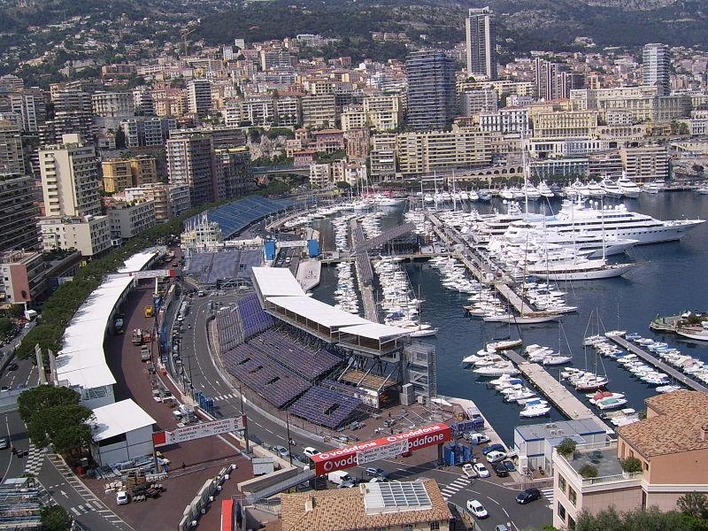 Монако, порт