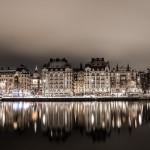 Стокгольм - город, плывущий над водой