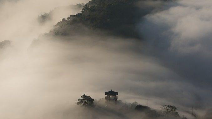 Азия, пагода
