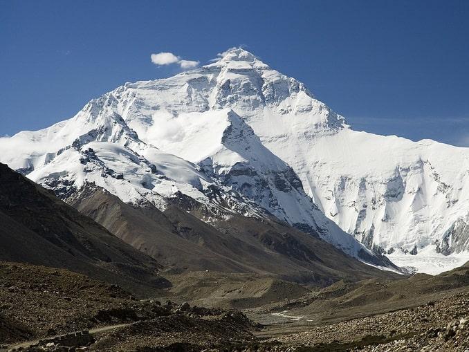 Эверест, Азия