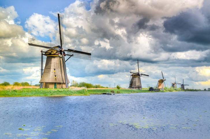 Киндердейк, Нидерланды