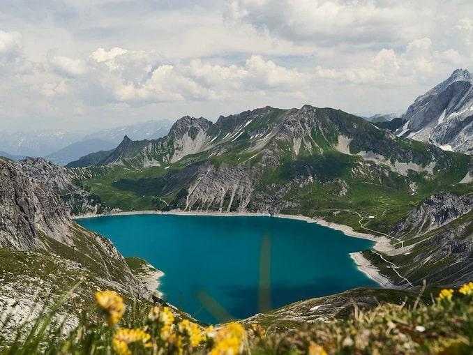 Озеро Люнерзе, Форарльберг, Австрия