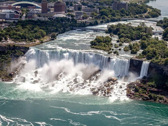 Ниагарский водопад, Северная Америка