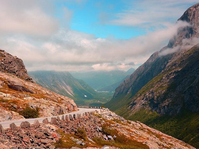 Норвегия: дорога и горы