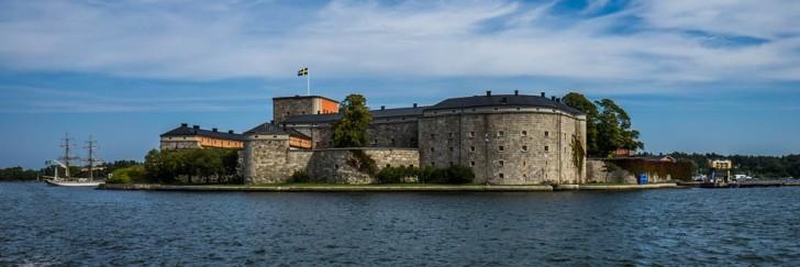 Крепость Ваксхольм, Швеция
