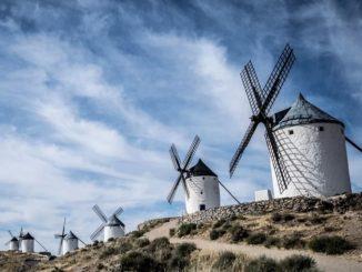 Ветряные мельницы, Ла Манча, Испания