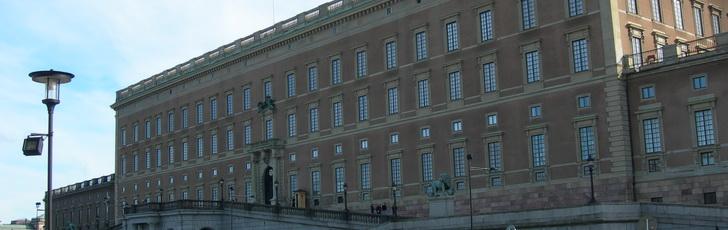 Дворец в Стокгольме