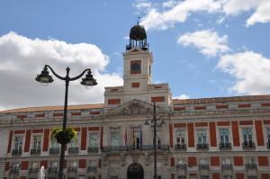Пуэрта-дель-Соль, ратуша Мадрида