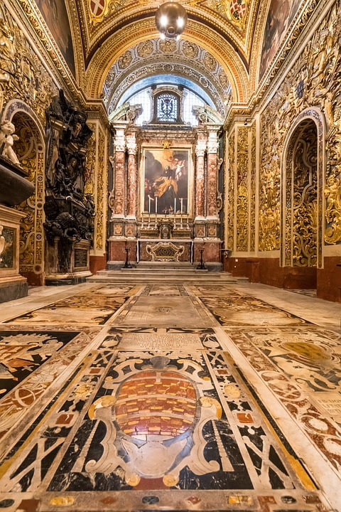 Собор святого Иоанна, Валетта