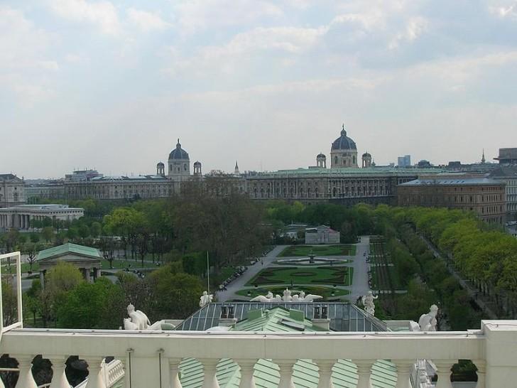 Вена, вид на Хофбург