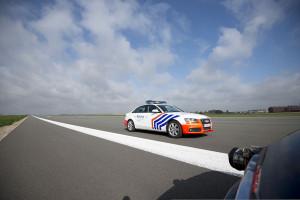 Тест радара на дороге в Бельгии