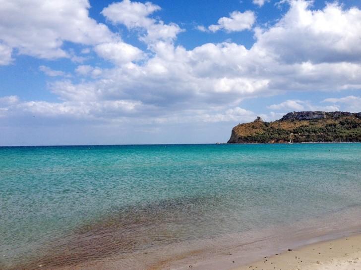 Кальяри, пляж Поэтто