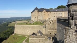 Крепость Кёнигштайн под Дрезденом