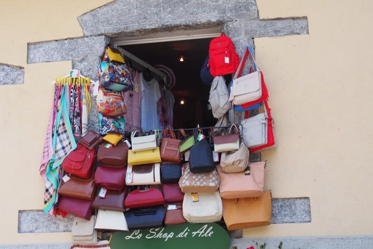 Магазин сумок, Италия