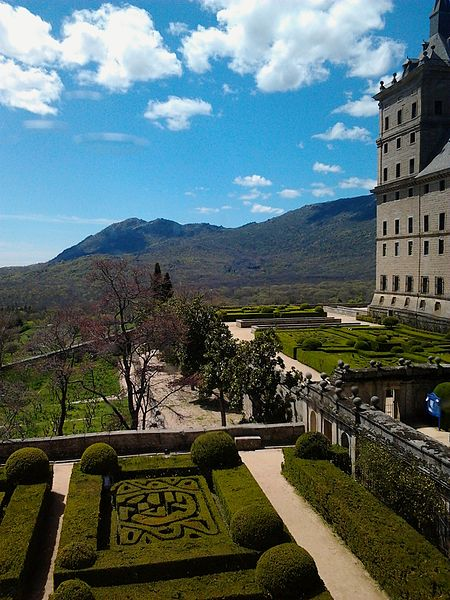 Королевские сады Эскориала