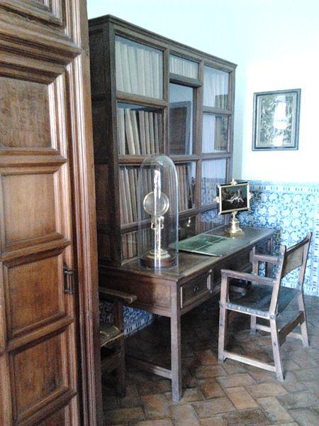 Кабинет Филиппа II в Эскориале