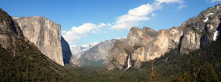 Йосемитский парк - Северная Америка