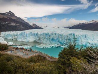 Ледник Перито-Морено в Южной Америке