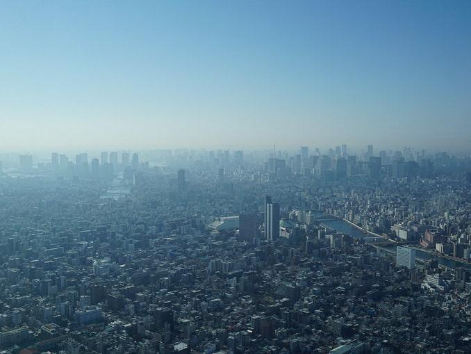 Токио в тумане