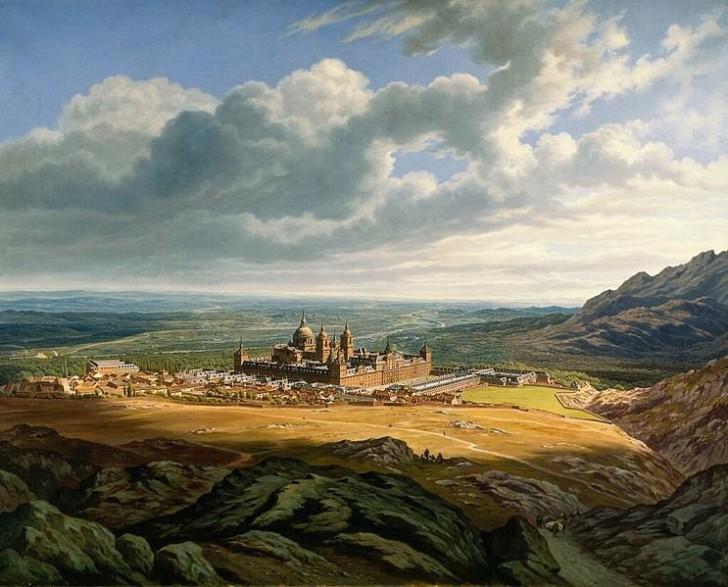 Эль-Эскориал, Хуберт Затлер, 1867 год